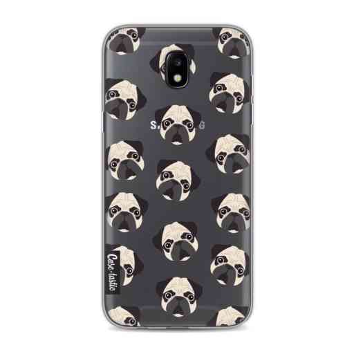 Casetastic Softcover Samsung Galaxy J5 (2017) - Pug Trouble