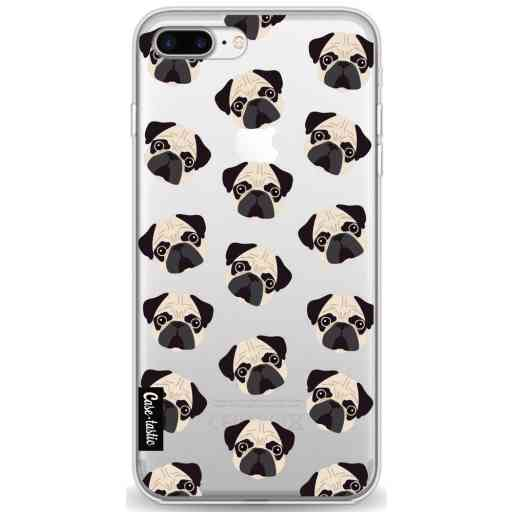Casetastic Softcover Apple iPhone 7 Plus / 8 Plus - Pug Trouble