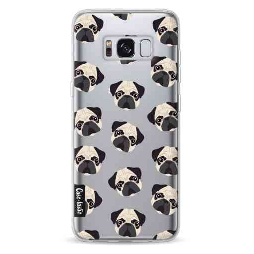 Casetastic Softcover Samsung Galaxy S8 - Pug Trouble