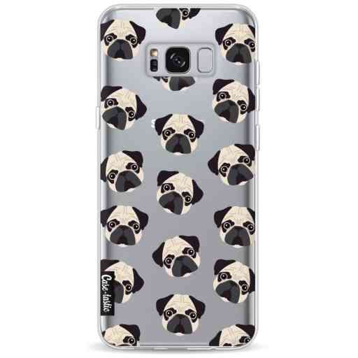 Casetastic Softcover Samsung Galaxy S8 Plus - Pug Trouble