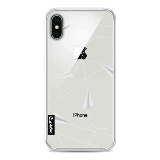 Casetastic Softcover Apple iPhone X / XS - Paperplanes