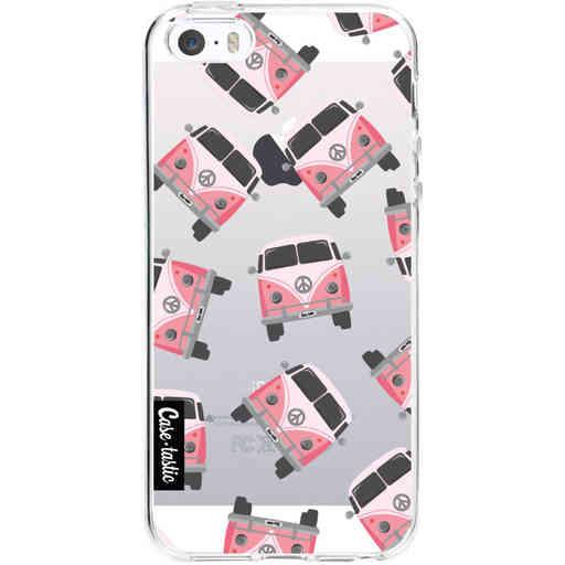 Casetastic Softcover Apple iPhone 5 / 5s / SE - Little Casetastic Vans Pink