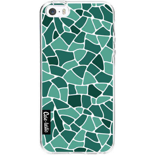 Casetastic Softcover Apple iPhone 5 / 5s / SE - Aqua Mosaic