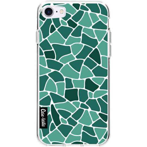 Casetastic Softcover Apple iPhone 7 / 8 / SE (2020) - Aqua Mosaic