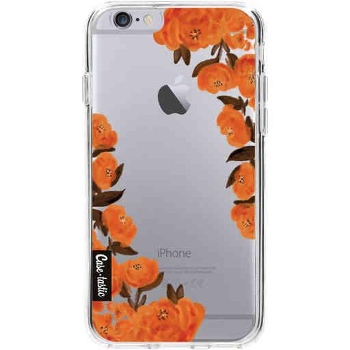 Casetastic Softcover Apple iPhone 6 / 6s - Orange Autumn Flowers