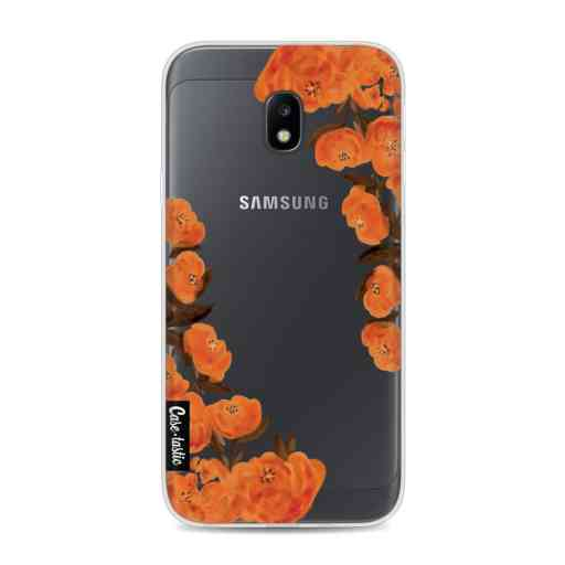 Casetastic Softcover Samsung Galaxy J3 (2017) - Orange Autumn Flowers
