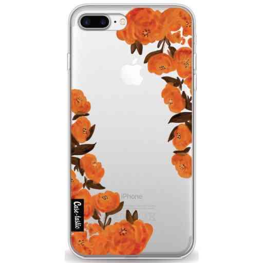 Casetastic Softcover Apple iPhone 7 Plus / 8 Plus - Orange Autumn Flowers