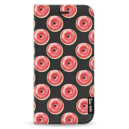 Casetastic Wallet Case Black Apple iPhone X / XS - All The Donuts