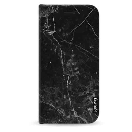 Casetastic Wallet Case Black Apple iPhone X / XS - Black Marble