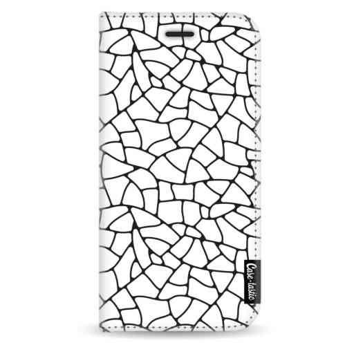 Casetastic Wallet Case White Apple iPhone X / XS - Transparent Mosaic