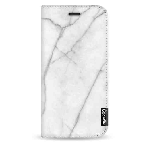 Casetastic Wallet Case White Apple iPhone X / XS - White Marble