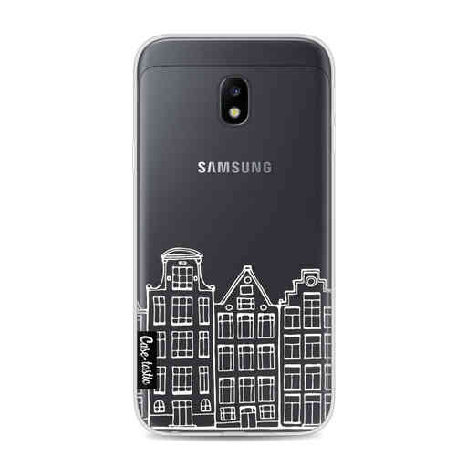 Casetastic Softcover Samsung Galaxy J3 (2017) - Amsterdam Canal Houses White