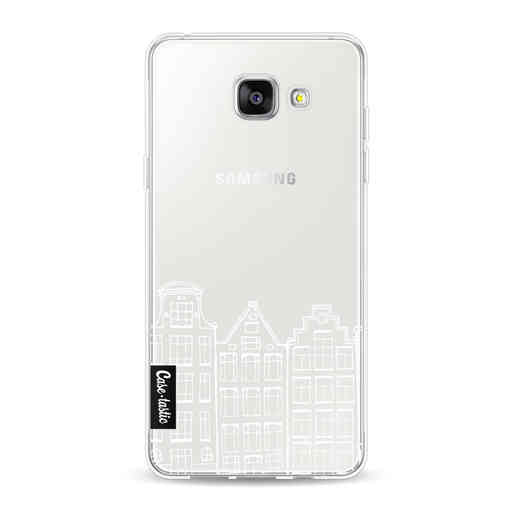 Casetastic Softcover Samsung Galaxy A5 (2016) - Amsterdam Canal Houses White