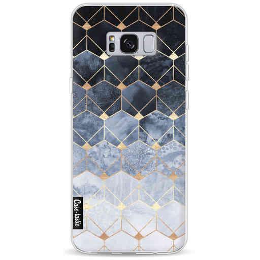 Casetastic Softcover Samsung Galaxy S8 Plus - Blue Hexagon Diamonds