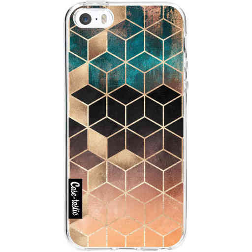 Casetastic Softcover Apple iPhone 5 / 5s / SE - Ombre Dream Cubes