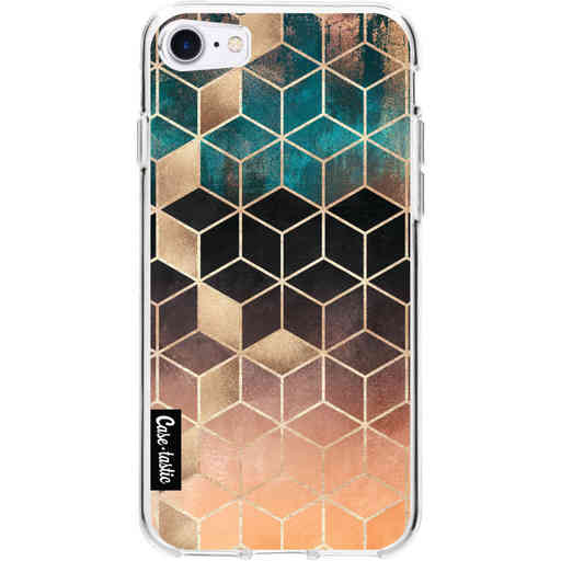 Casetastic Softcover Apple iPhone 7 / 8 / SE (2020) - Ombre Dream Cubes