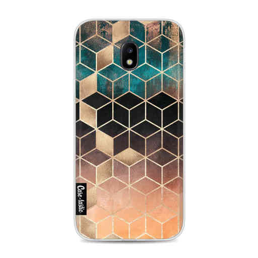 Casetastic Softcover Samsung Galaxy J3 (2017) - Ombre Dream Cubes