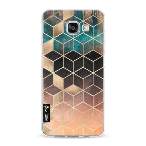 Casetastic Softcover Samsung Galaxy A5 (2016) - Ombre Dream Cubes