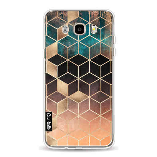 Casetastic Softcover Samsung Galaxy J5 (2016) - Ombre Dream Cubes