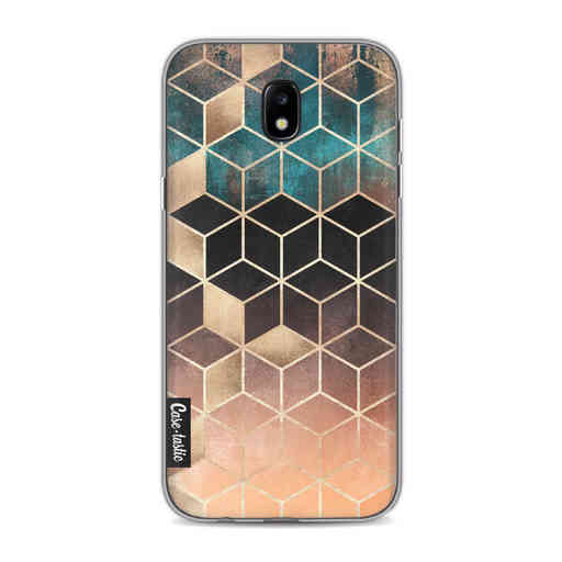 Casetastic Softcover Samsung Galaxy J5 (2017) - Ombre Dream Cubes
