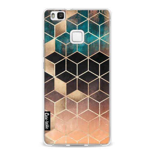 Casetastic Softcover Huawei P9 Lite - Ombre Dream Cubes