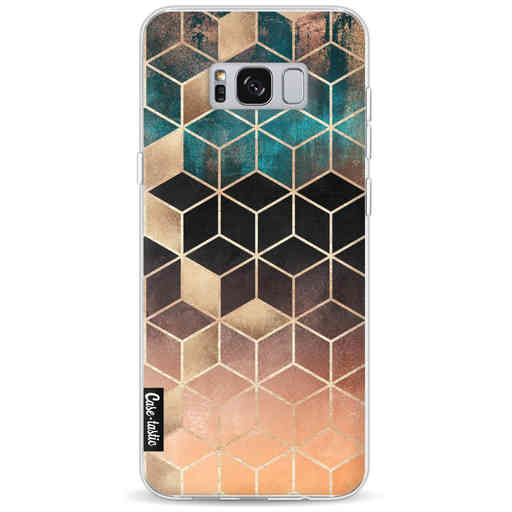 Casetastic Softcover Samsung Galaxy S8 Plus - Ombre Dream Cubes