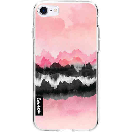 Casetastic Softcover Apple iPhone 7 / 8 / SE (2020) - Pink Mountains