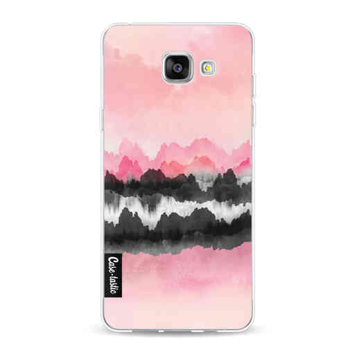 Casetastic Softcover Samsung Galaxy A5 (2016) - Pink Mountains