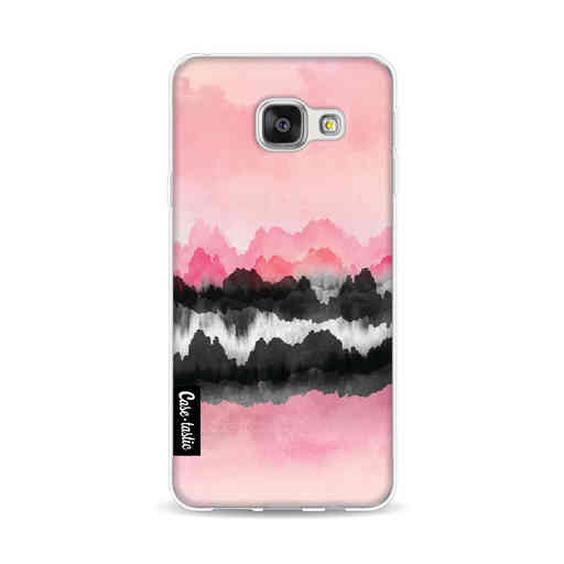 Casetastic Softcover Samsung Galaxy A3 (2016) - Pink Mountains