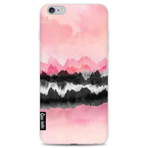 Casetastic Softcover Apple iPhone 6 Plus / 6s Plus - Pink Mountains