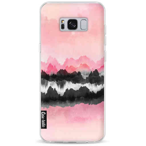Casetastic Softcover Samsung Galaxy S8 Plus - Pink Mountains