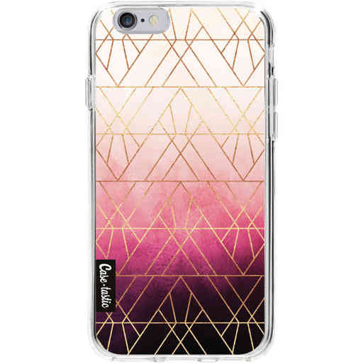 Casetastic Softcover Apple iPhone 6 / 6s - Pink Ombre Triangles