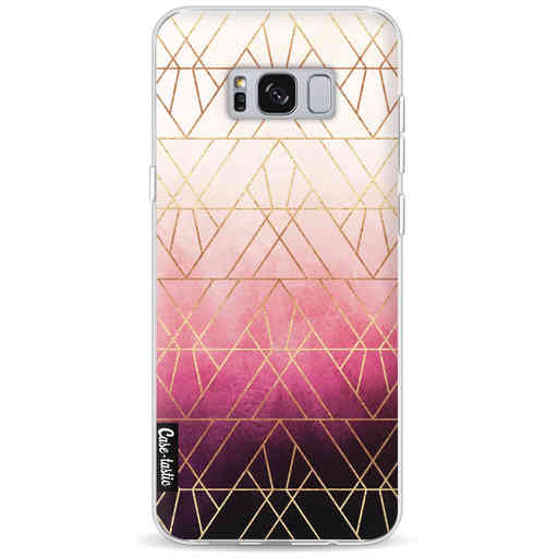 Casetastic Softcover Samsung Galaxy S8 Plus - Pink Ombre Triangles