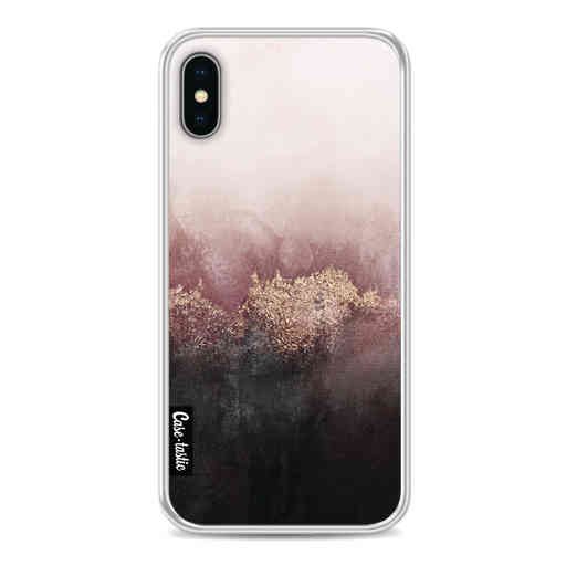 Casetastic Softcover Apple iPhone X / XS - Pink Sky