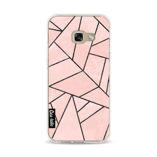 Casetastic Softcover Samsung Galaxy A3 (2017)  - Rose Stone