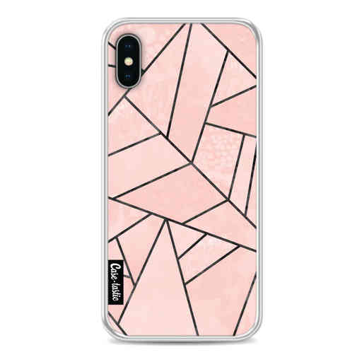 Casetastic Softcover Apple iPhone X / XS - Rose Stone
