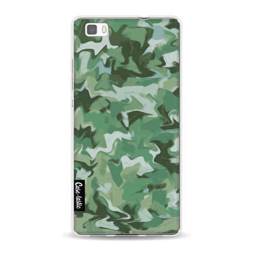 Casetastic Softcover Huawei P8 Lite (2015) - Army Camouflage