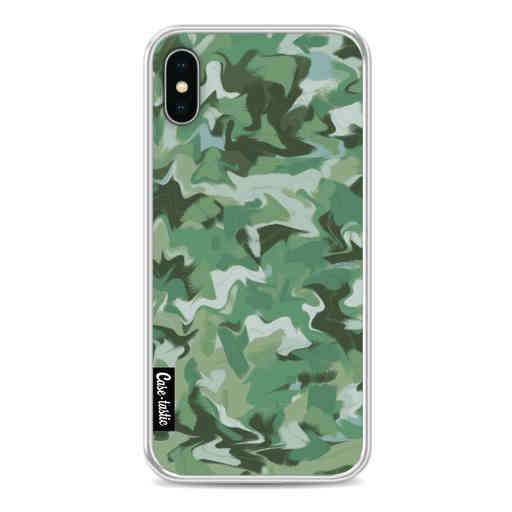 Casetastic Softcover Apple iPhone X / XS - Army Camouflage