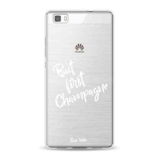 Casetastic Softcover Huawei P8 Lite (2015) - But First Champagne
