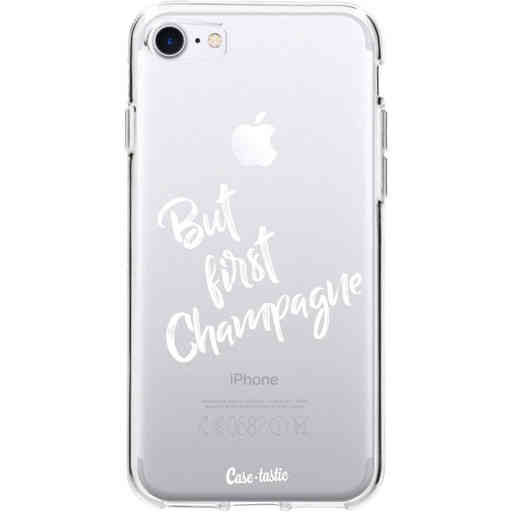 Casetastic Softcover Apple iPhone 7 / 8 / SE (2020) - But First Champagne