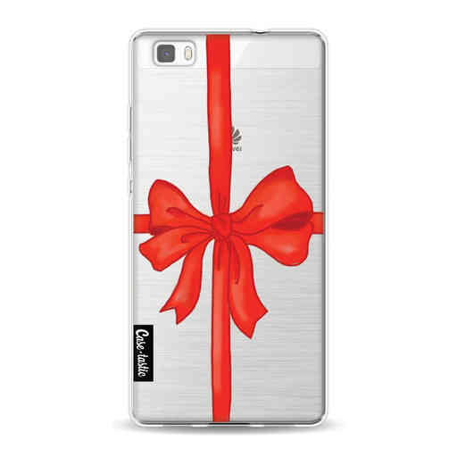 Casetastic Softcover Huawei P8 Lite (2015) - Christmas Ribbon