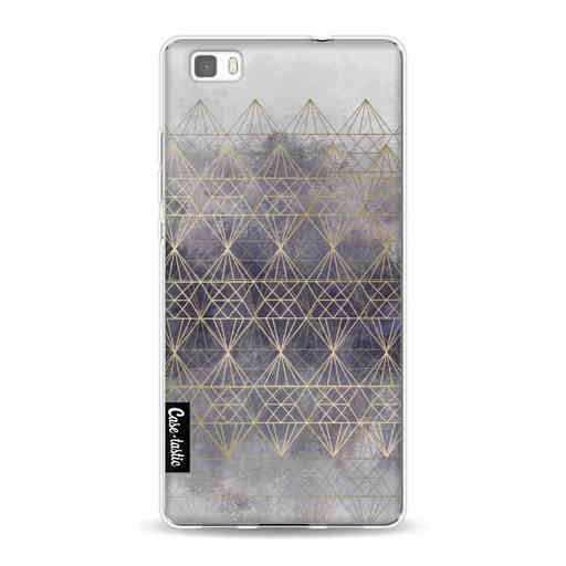 Casetastic Softcover Huawei P8 Lite (2015) - Cold Diamonds