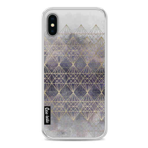 Casetastic Softcover Apple iPhone X / XS - Cold Diamonds