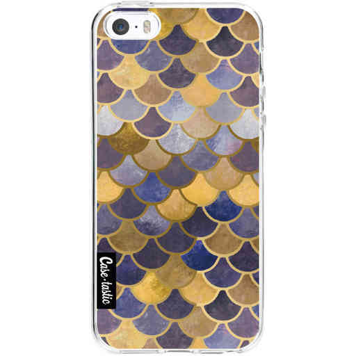 Casetastic Softcover Apple iPhone 5 / 5s / SE - Sapphire Scales