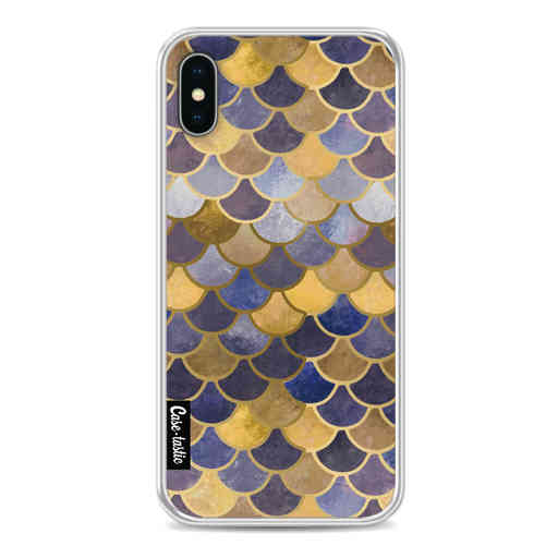 Casetastic Softcover Apple iPhone X / XS - Sapphire Scales
