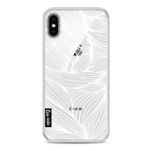 Casetastic Softcover Apple iPhone X / XS - Wavy Outlines