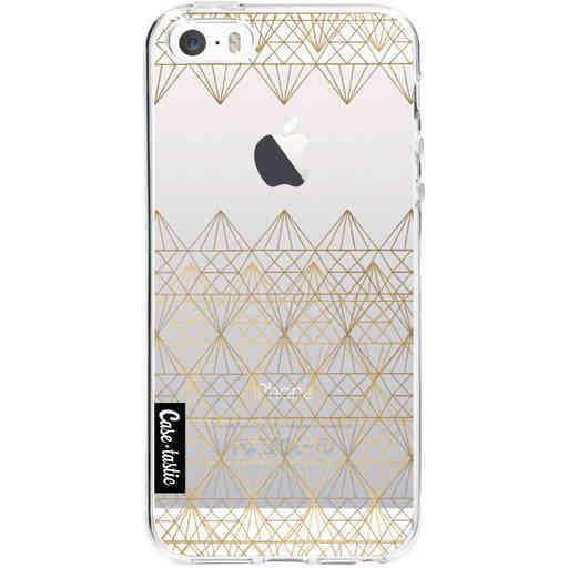 Casetastic Softcover Apple iPhone 5 / 5s / SE - Golden Diamonds