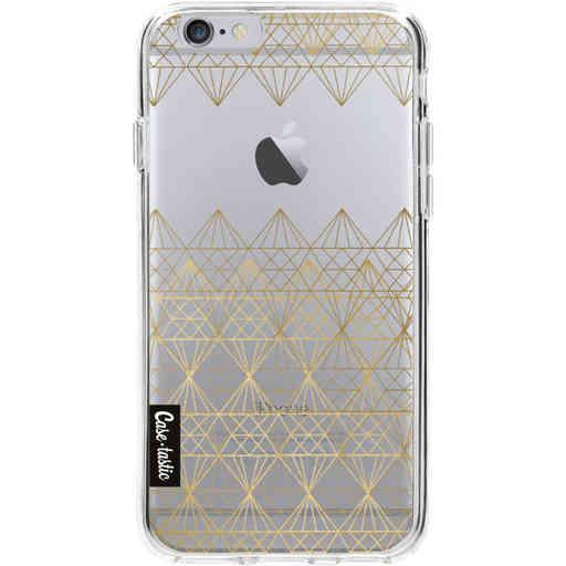 Casetastic Softcover Apple iPhone 6 / 6s - Golden Diamonds