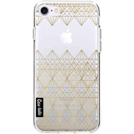 Casetastic Softcover Apple iPhone 7 / 8 / SE (2020) - Golden Diamonds