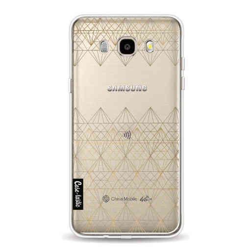 Casetastic Softcover Samsung Galaxy J5 (2016) - Golden Diamonds